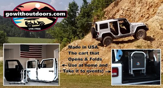 Jeep Door Storage Carts